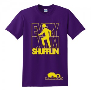 [LMFAO] SHUFFLIN PURPLE/YELLOW