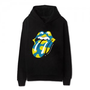 [THE ROLLING STONES] ROLLING MONSTERS BLUE HOODIE