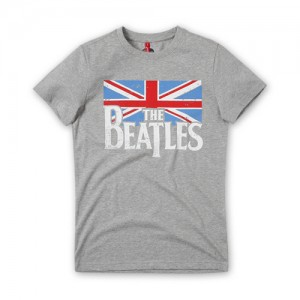 [THE BEATLES] BRITISH FLAG GREY