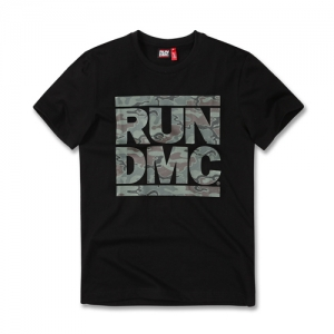 [RUN DMC] MILITARY BLACK