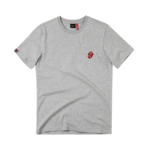 [THE ROLLING STONES] CLASSIC TONGUE EMBLEM GREY