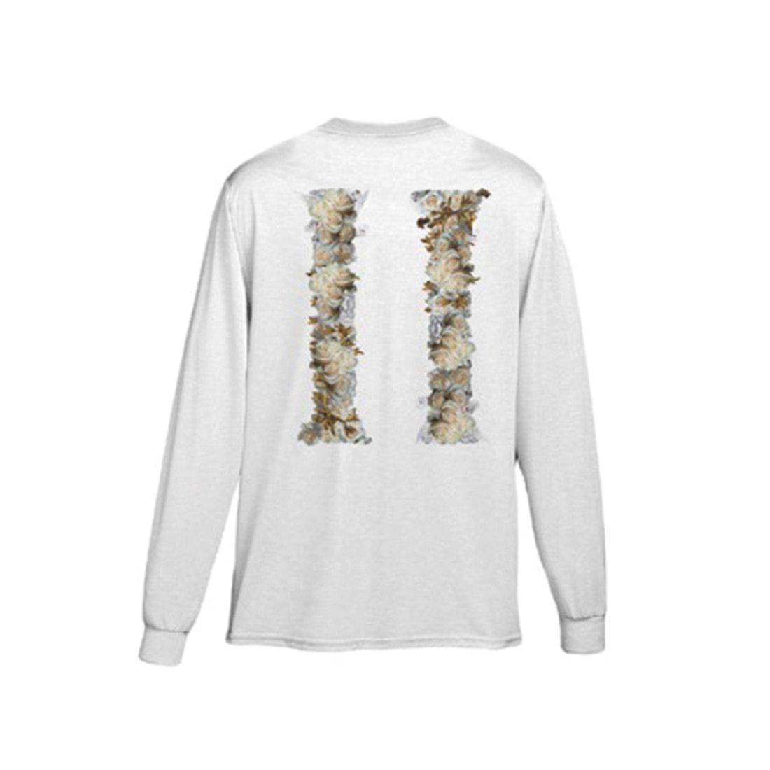 [Migos] CULTURE COLUMNS LONG SLEEVE WHITE