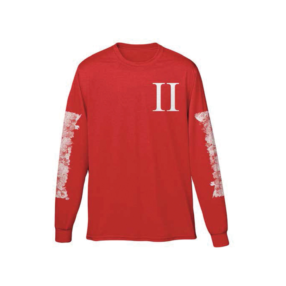[Migos] COLUMN OUTLINE LONG SLEEVE RED