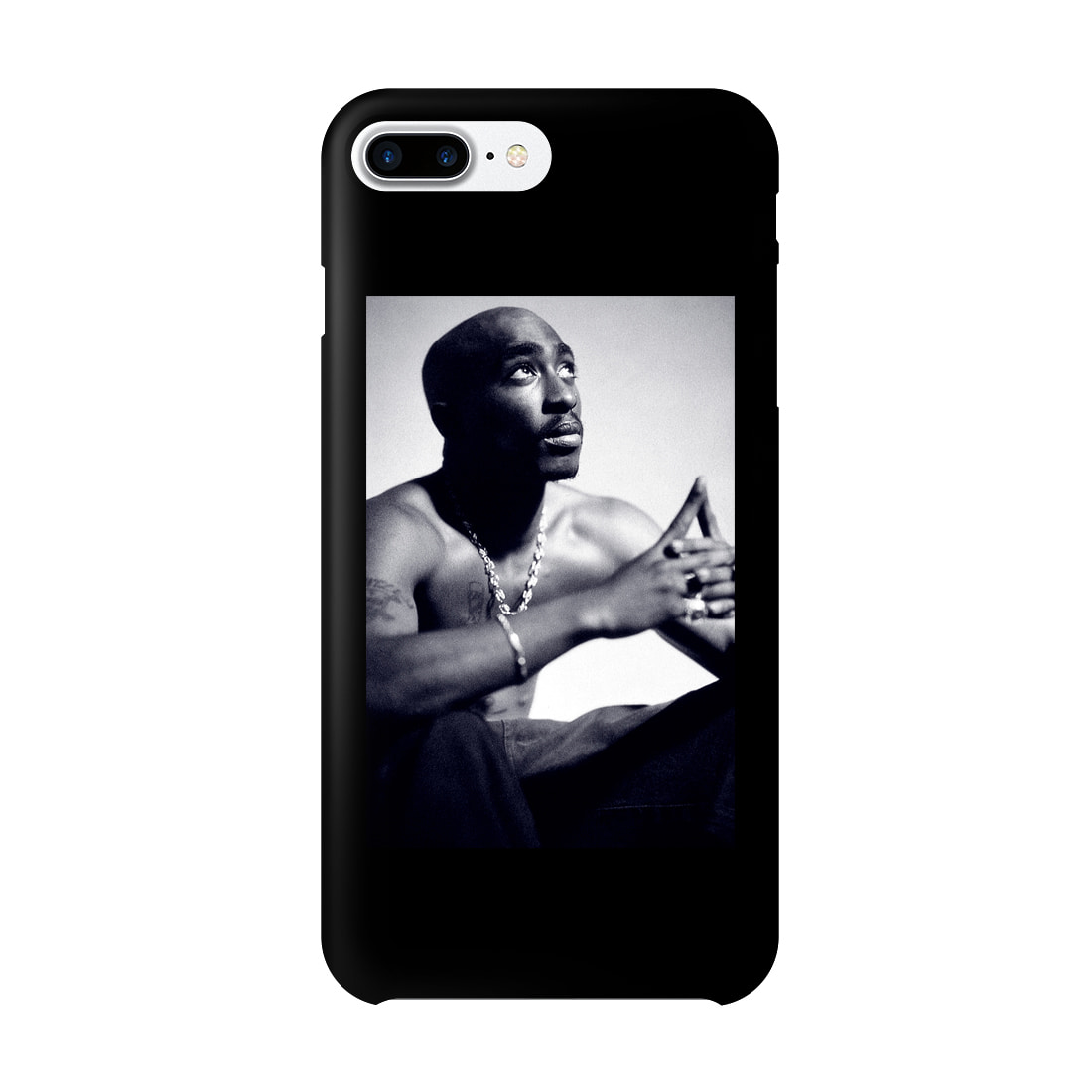 TUPAC PHOTO IPHONE 7/8 CASE (BRENT192)