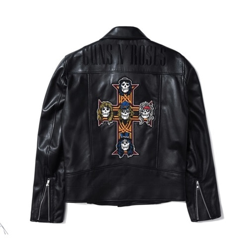 GNR APPETITE LEATHER JACKET (BRENT1807)