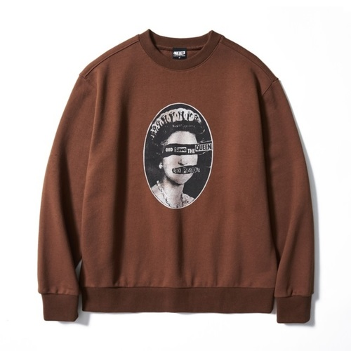 SP SAVE THE QUEENS SWEATSHIRT BR (BRENT1798)