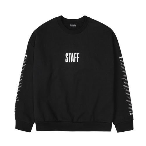 PURPOSE TOUR STAFF SWEATSHIRT BLACK