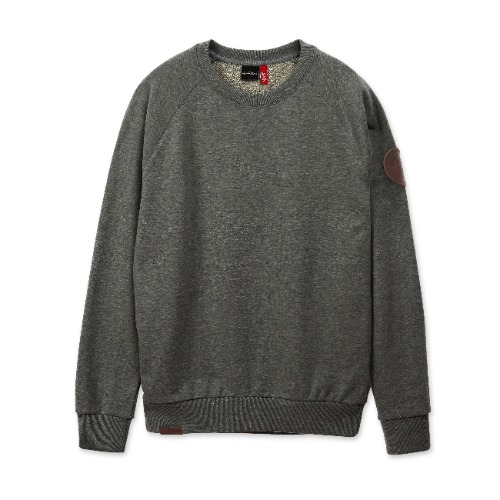 [THE ROLLING STONES] 1962 LOGO CREWNECK M/GREY