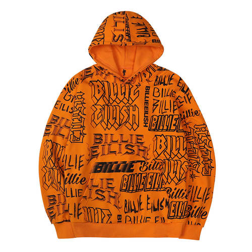 (한정판) BE LOGO COLLAGE HOODIE OR (BRENT1961)