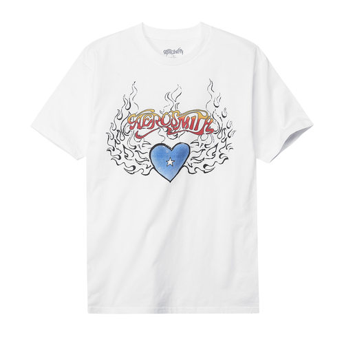 AS Heart Flames White Vintage (BRENT2014)