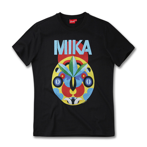 [MIKA] TRIBAL MASK BLACK
