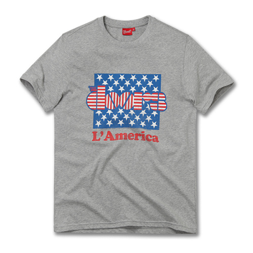 [THE DOORS] STARS AND STRIPES GREY