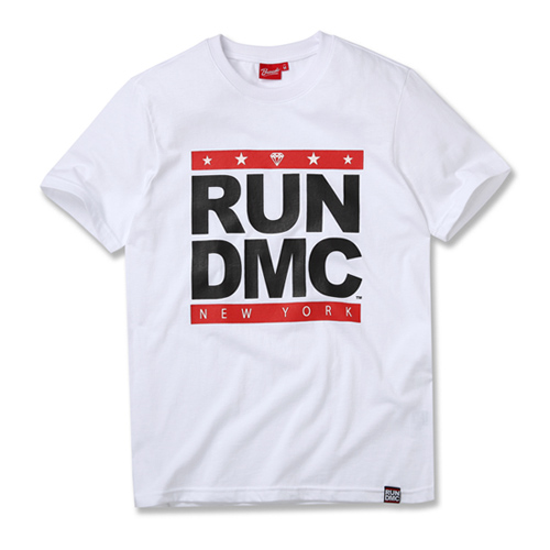 [RUN DMC] NY LOGO WHITE
