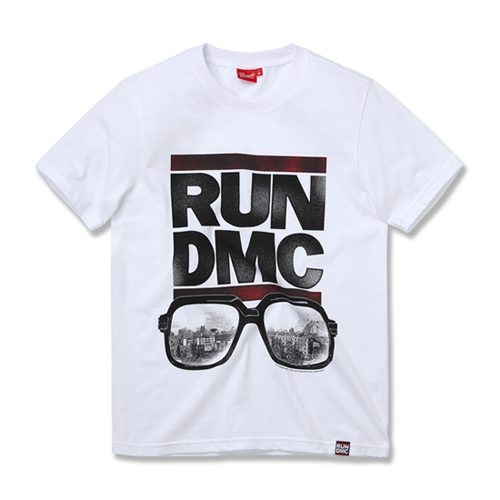 [RUN DMC] GLASSES NYC WHITE