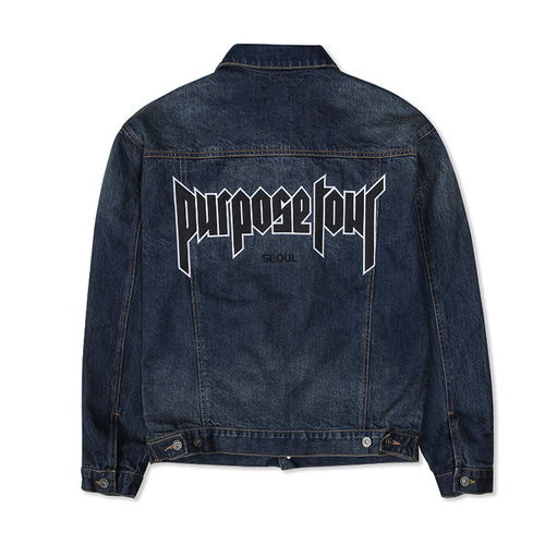 PURPOSE TOUR DENIM JACKET