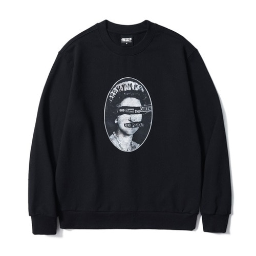 [ M사이즈 10월19일부터 발송예정] SP SAVE THE QUEENS SWEATSHIRT BK (BRENT1797)