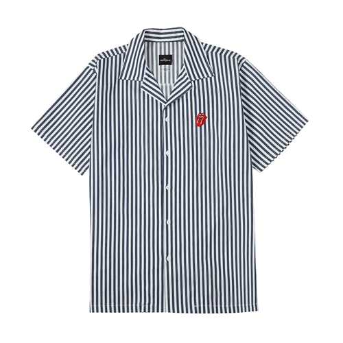 TRS CLASSIC TONGUE STRIPE OPEN SHIRT NA (BRENT1717)
