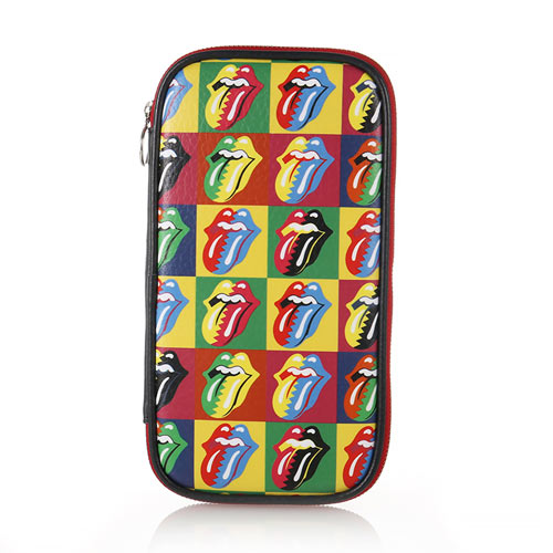 THE ROLLING STONES POUCH (WARHOL PATTERN)