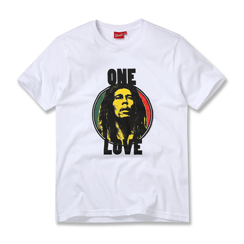 [BOB MARLEY] ONE LOVE WHITE