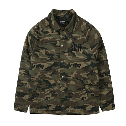 PURPOSE TOUR COACH JACKET KHAKI