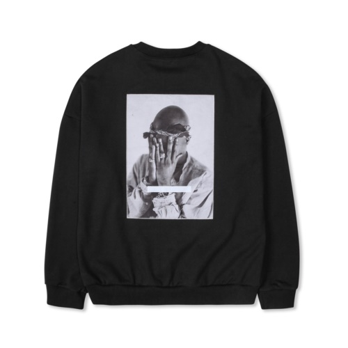 TUPAC ALL EYES ON ME SWEATSHIRT BLACK
