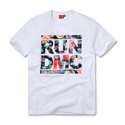[RUN DMC] FLORAL WHITE