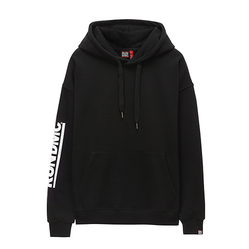 [RUN DMC] WALK THIS WAY HOODIE BLACK