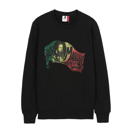 [BOBMARLEY] CHORDS SWEATSHIRTS (black)