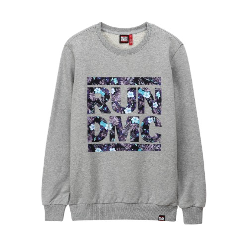 [RUNDMC] JUNGLE CREWNECK GREY