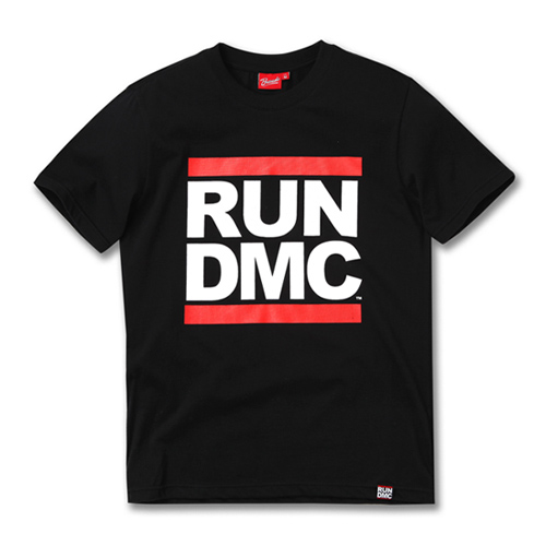 [RUN DMC] LOGO BLACK