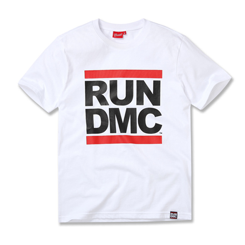 [RUN DMC] LOGO WHITE