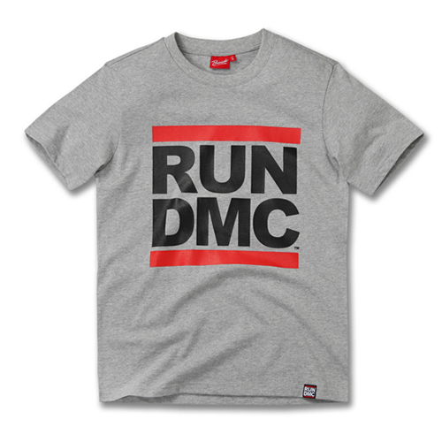 [RUN DMC] LOGO GREY