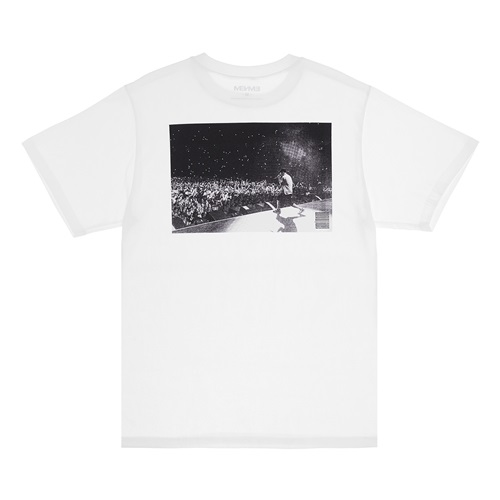 [Bravado]EMINEM CROWD SHOT TEE WH