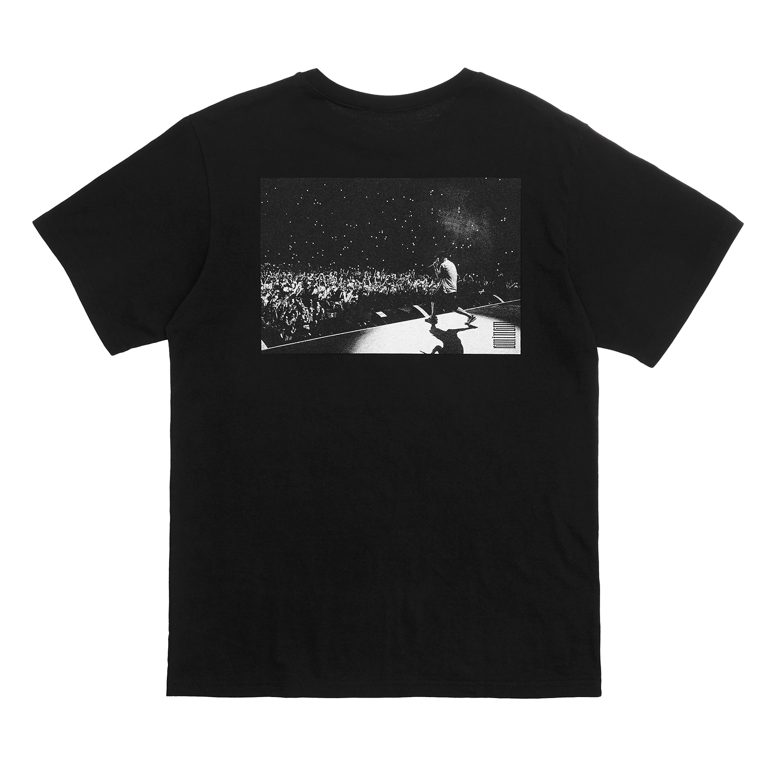 [Bravado]EMINEM CROWD SHOT TEE BK
