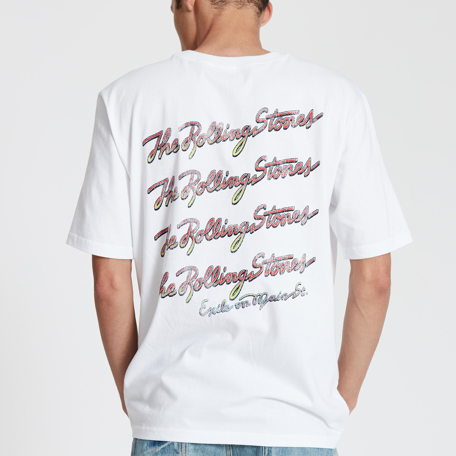 THE ROLLING STONES EXILE ON MAIN ST TEE WH